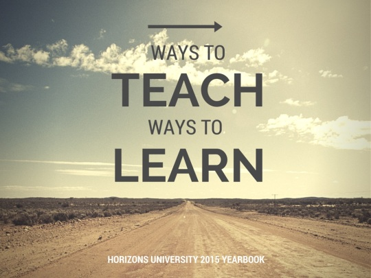 Ways to Teach Ways to Learn